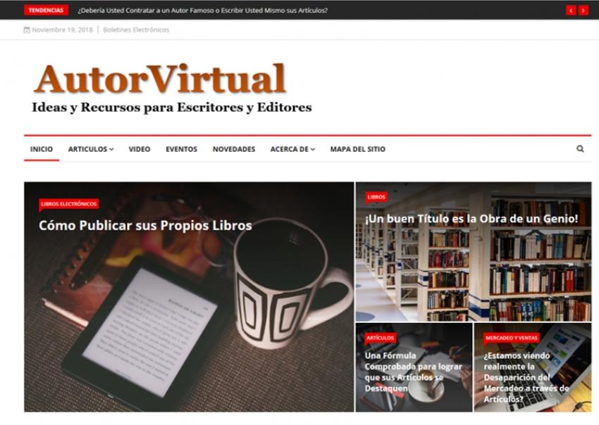 Bienvenido a AutorVirtual.COM